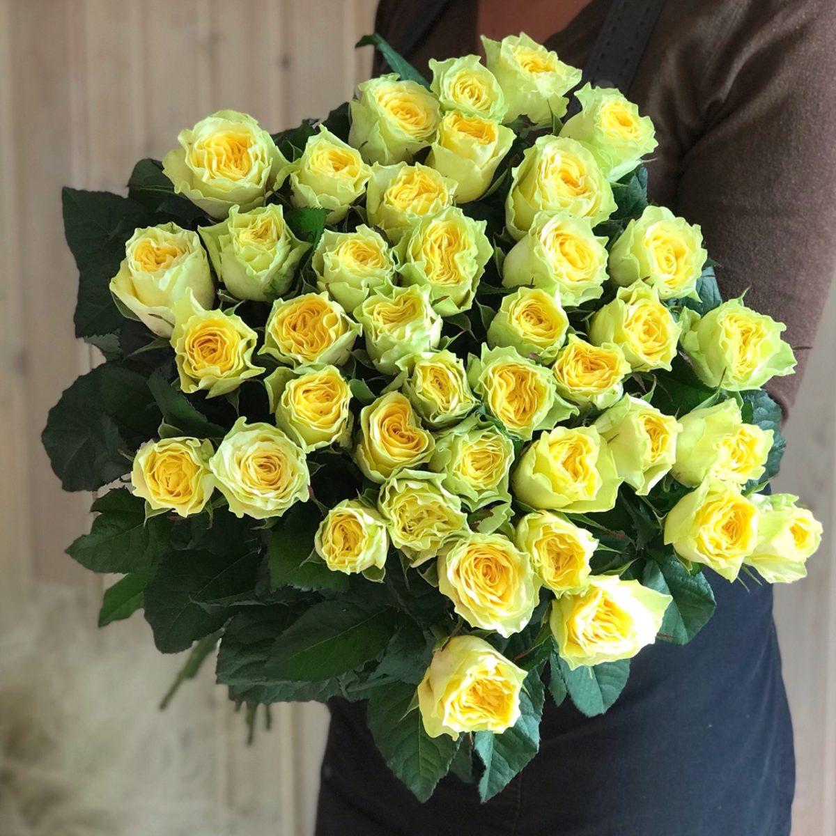 Розочки маленькие, букет из 39 роз купить
